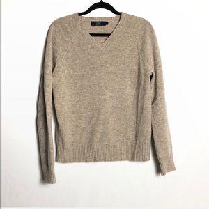 J. Crew men's lambswool vneck sweater